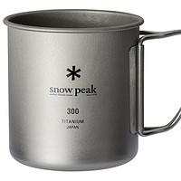snow peak 雪峰 钛金属单层马克杯