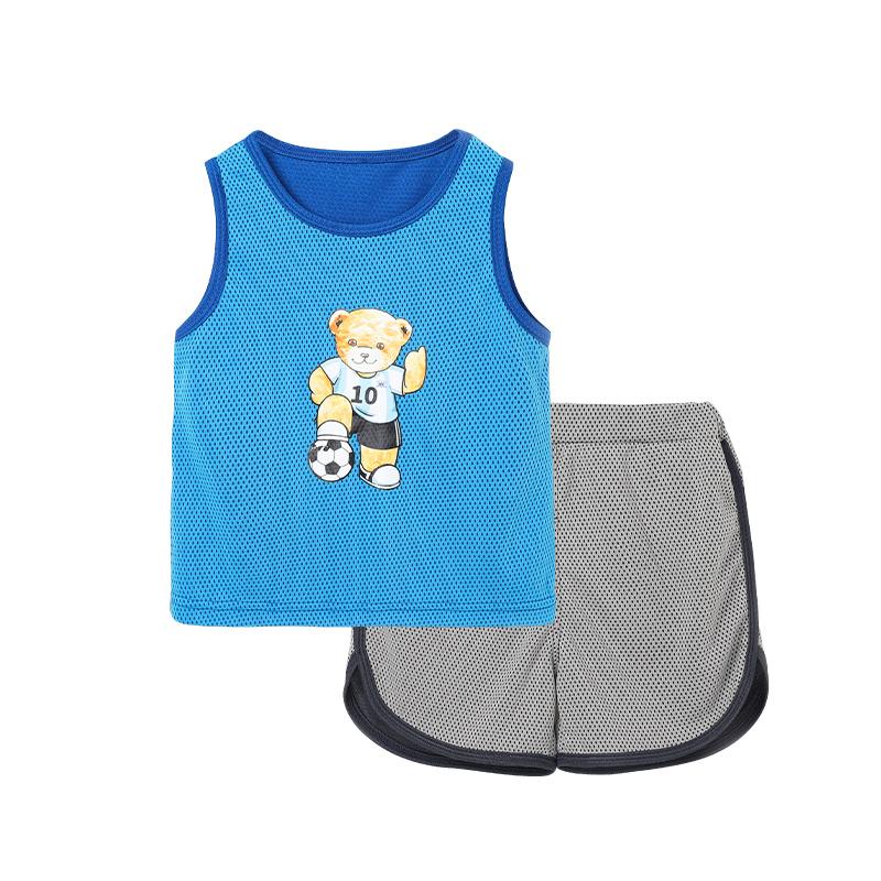 抵现红包:精典泰迪 儿童速干运动套装 90-140cm22.5元包邮(15元优惠券+2.4元红包,限量450份)
