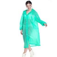移动专享:HAGGIS 成人加厚纯色雨衣