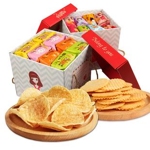 【阿婆家的】薯片网红大礼包8包