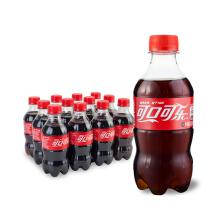 限地区:可口可乐 Coca-Cola 汽水 碳酸饮料 300ml*12瓶16.9元