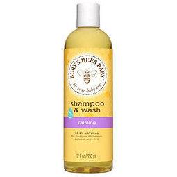 Burt'sBeesBaby蜜蜂洗发水&沐浴露12液体盎司(350ml)3瓶装