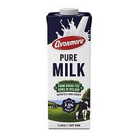 爱尔兰进口!avonmore艾恩摩尔纯牛奶1L*6盒