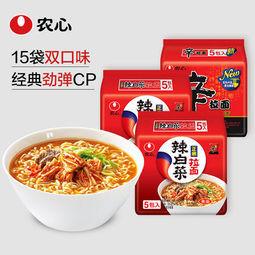 农心韩式辣白菜/辛拉面15连包