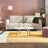 新品发售:KUKa 顾家家居 DK.2088 布艺沙发 3双灰色