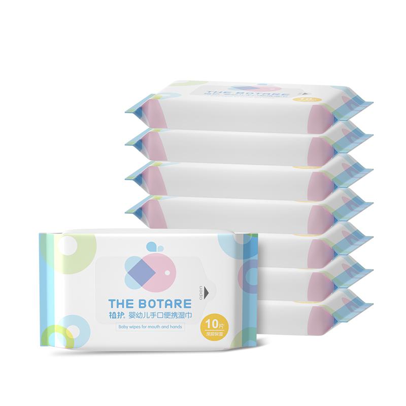 植护 婴幼儿专用湿巾 6包*10片