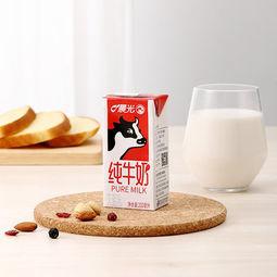 晨光全脂纯牛奶200ml*12盒*2箱