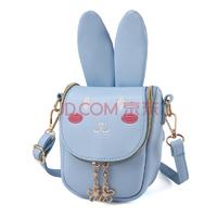 拥抱熊长耳朵兔子儿童斜跨单肩可爱包包14.9元包邮(需用券)